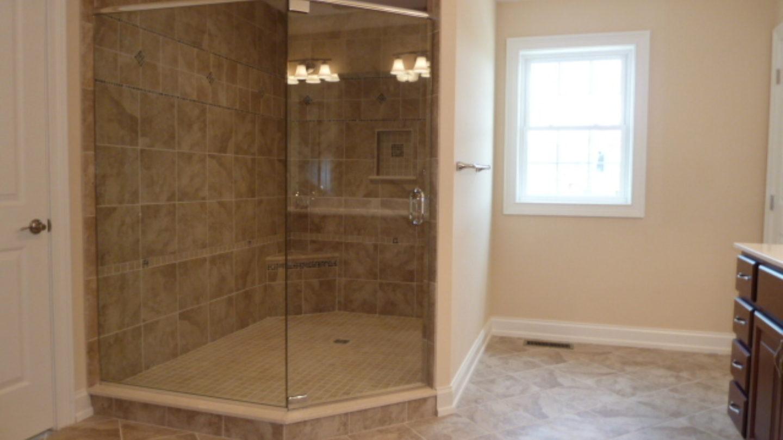 custom master bath shower